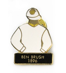 1896 Ben Brush Tac Pin