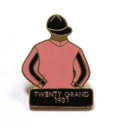 1931 Twenty Grand Tac Pin