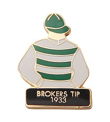 1933 Broker's Tip Tac Pin