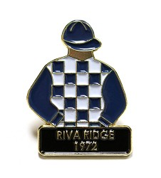 1972 Riva Ridge Tac Pin