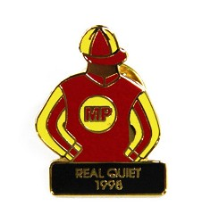 1998 Real Quiet Tac Pin