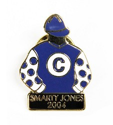 2004 Smarty Jones Tac Pin