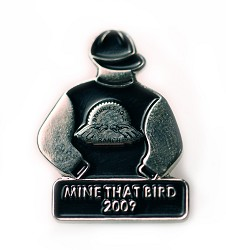 2009 Mine That Bird Tac Pin