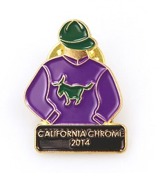 2014 California Chrome Tac Pin