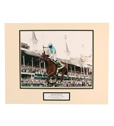 American Pharoah Remote Derby 8x10 Matted Photo