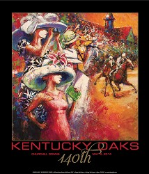 Art of the Oaks 2014 Print