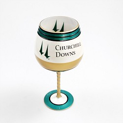 Churchill Downs Artisan Wine Glass