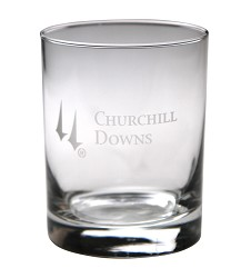 Churchill Downs Double Old-Fashioned Glass,001-304 LITE ET