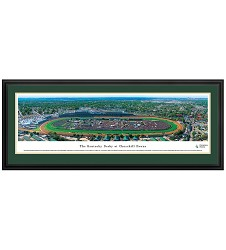 Churchill Downs Derby Day Panorama Deluxe Frame