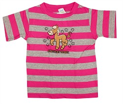 Kid's Striped Horse Tee
