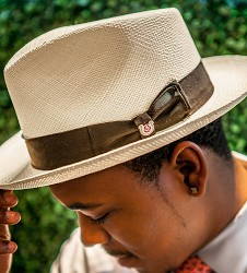 Men's Kentucky Derby Casa Blanca Fedora