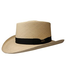 Men's Panama Gambler Hat,P125-NAT