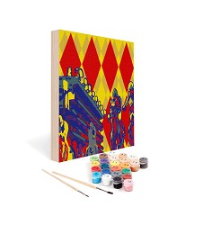 Paint by Number Art Kit--Bet the Diamond Mini Kit