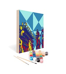Paint by Number Art Kit--Suit Up Mini Kit