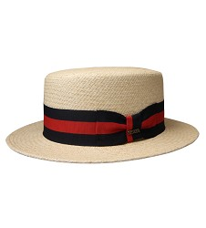 Red and Navy Band Hat