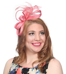 The Curley Cue Fascinator