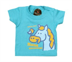 Toddler's Horse and Bird Tee