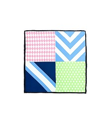 Vineyard Vines Four-Panel Patchwork Pocket Square