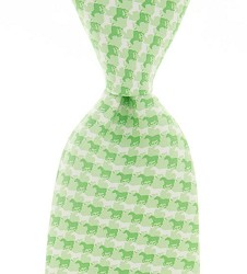 Vineyard Vines Gingham Horse Tie