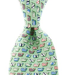 Vineyard Vines Silks Whales Tie