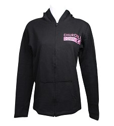 Juniors' Churchill Downs Full-Zip Hooded Sweatshirt