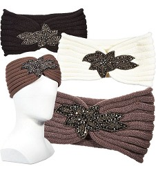 Ladies' Sparkle Applique Earband