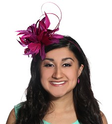 The Feathers and Quill Fascinator
