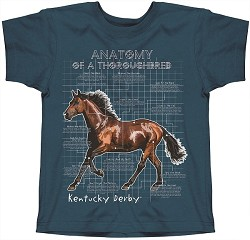 Youth Thoroughbred Anatomy Tee