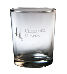 Churchill Down Logo Tavern Whiskey Tumbler