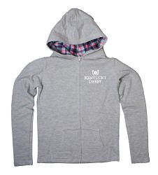 Girls' Running Horse Full-Zip Hoodie