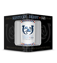 Kentucky Derby 143 Official Derby Glass,GD16195MJ