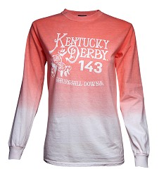 Kentucky Derby 143 Tin Roof Ombre Longsleeve Tee