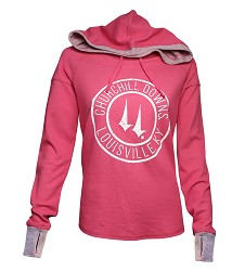 Churchill Downs Logo Cool Down Hoodie
