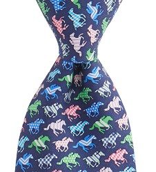 Vineyard Vines 2017 Running Horse Silks Tie