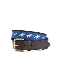 Vineyard Vines 2017 Horse Silks Belt