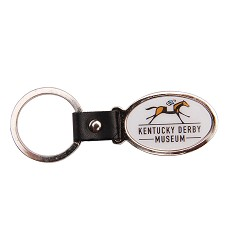 Kentucky Derby Museum Official Logo Keychain