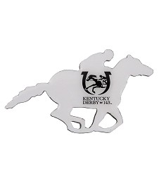 Kentucky Derby 143 Running Horse Lapel Pin