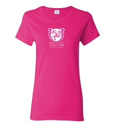 Kentucky Derby 143 Ladies' Event Tonal Tee Hot Pink Small