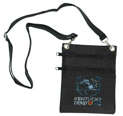Kentucky Derby 143 Canvas Bling Pouch