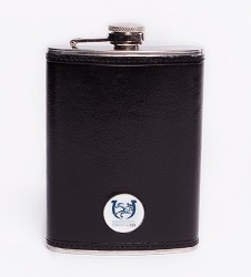 Kentucky Derby 143 Leather Flask