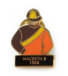 1888 Macbeth II Tac Pin