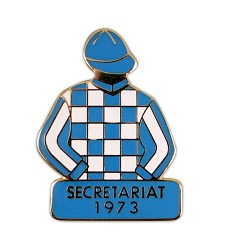 1973 Secretariat Tac Pin,Winners Tac Pins-Triple Crown,1973