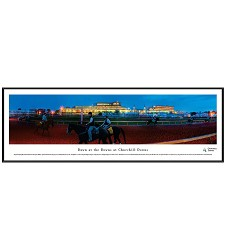 Churchill Downs Dawn at the Downs Panorama,Blakeway,CD4 FRAMED