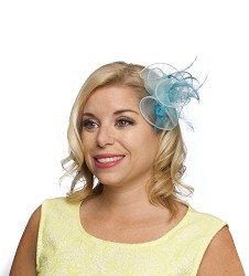 The Organza Clip Fascinator