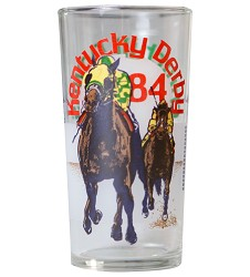 1984 Official Derby Glass,Derby Glasses-1980s