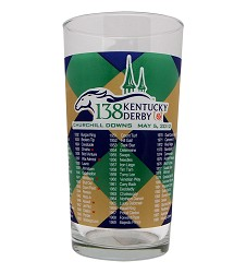 2012 Official Derby Glass,Derby Glasses-2010s