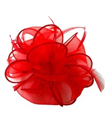 The Organza Pouff Clip