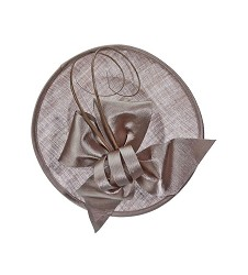 The Curled Quill Fascinator,LDF47-LATTE