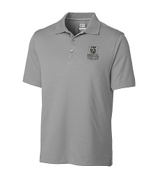 Kentucky Derby 143 Embroidered Glendale Polo,Cutter & Buck,MCK00996OXIDE MONO