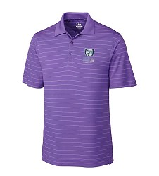 Kentucky Derby 143 Embroidered Franklin Stripe Polo,Cutter & Buck,MCK00969VALOR FULL C